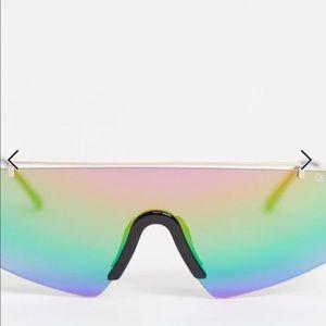 QUAY transcend shield sunglasses